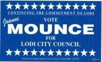 JoAnne Mounce - Lodi City Council